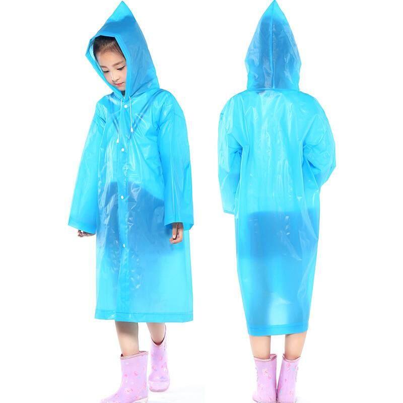 Portabel Pvc Ringan Tahan Air Jas Hujan Darurat Untuk Anak Perempuan Anak Laki-Laki Dengan Kerudung Dan Lengan By Yidea Hongkong.