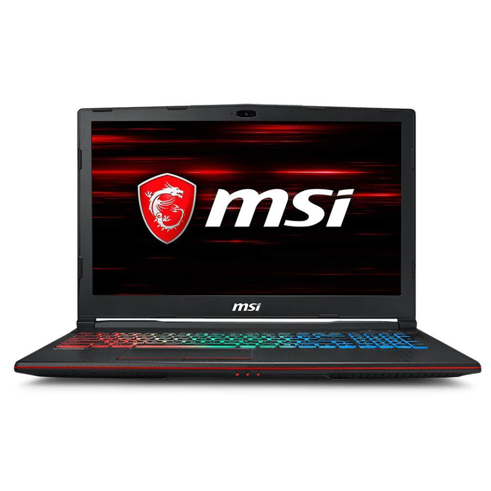 MSI GP63 8RD-409 15.6 FHD Gaming Laptop Black (i7-8750H, 8GB, 1TB+128GB, GTX1050Ti 4GB, W10) Malaysia