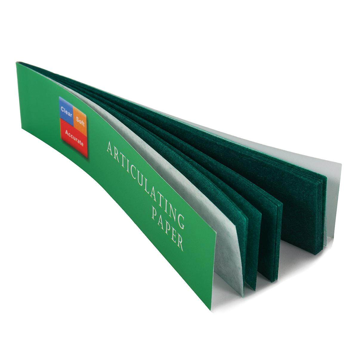 ... 200 Sheet/Box Dental Articulating Paper Thick Green Strips Oral Care Material Dentist Lab Products ...