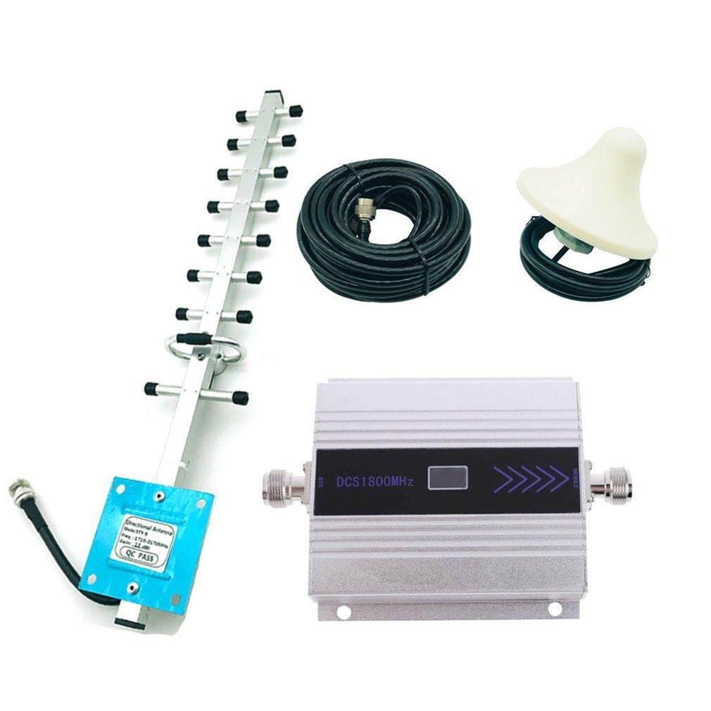Baik 4g 1800 Mhz Lte Dcs Sinyal Perangkat Mudah Bergerak Booster Gsm Lte Pengulang Amplifier + Yagi By Good Good Shop.