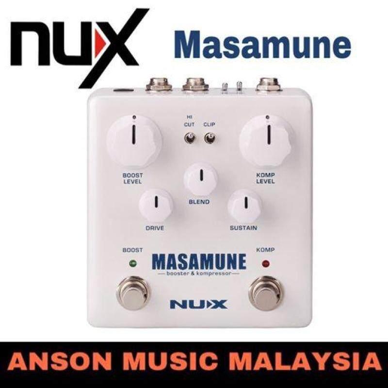 NUX Masamune Booster & Kompressor Effect Pedals Malaysia