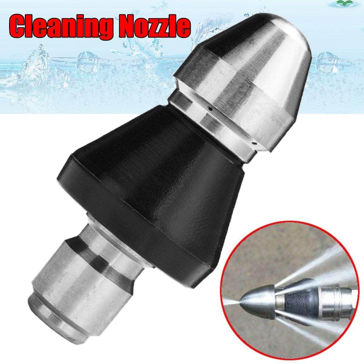 Pressure Washer Drain / Sewer Cleaning Jetter Nozzle