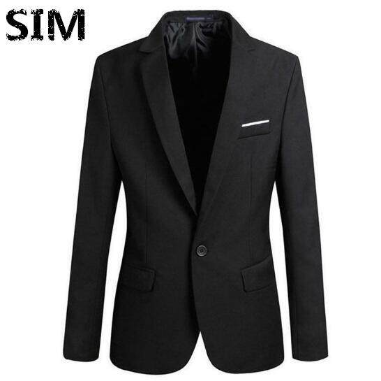 Sim Formal Mens Slim Fit Suit Blazer Business Coat Jacket Tops By Sim Men Store.