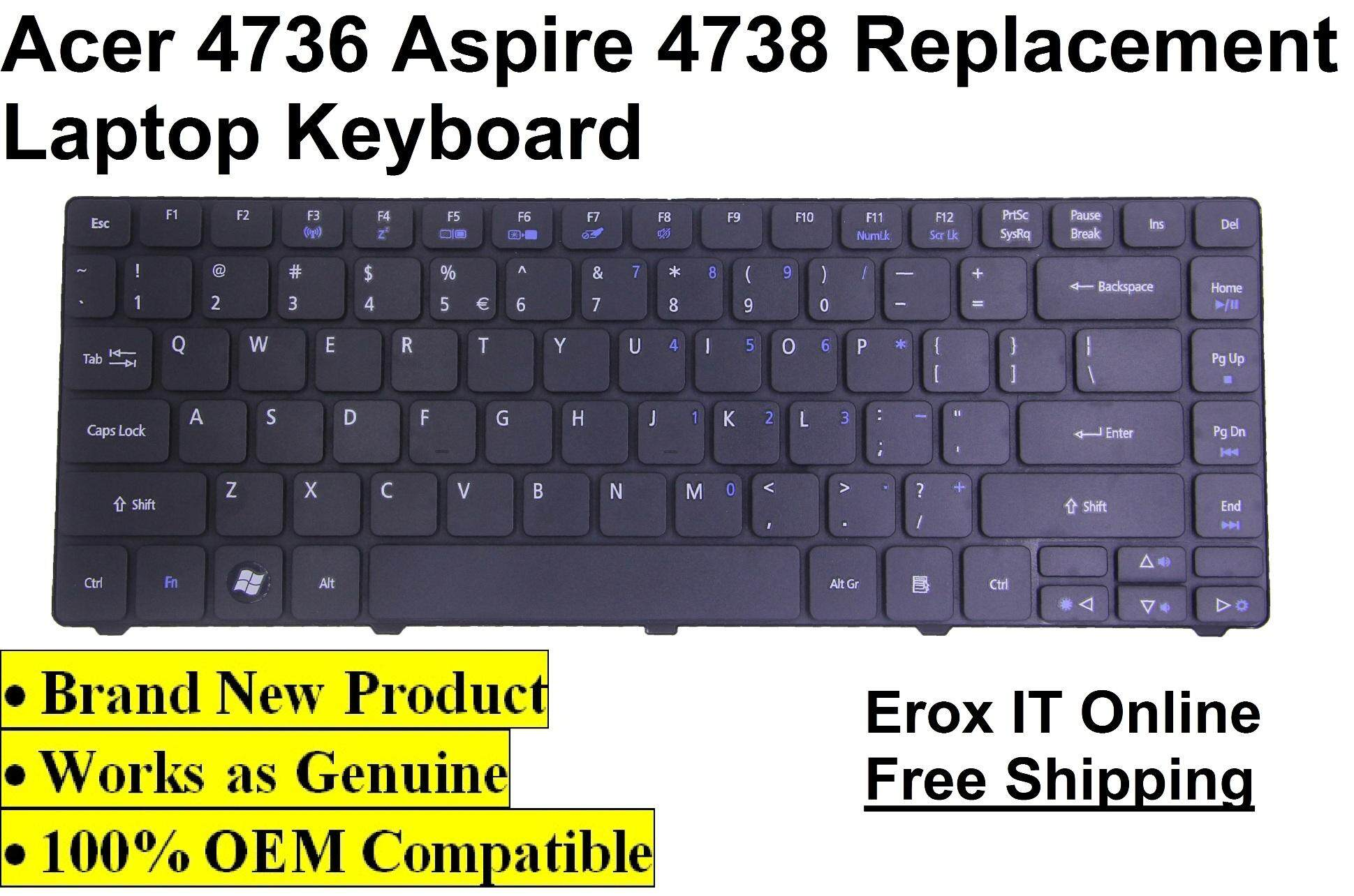Acer Aspire 4253 Laptop Keyboard /Acer 4810TZ Keyboard Malaysia