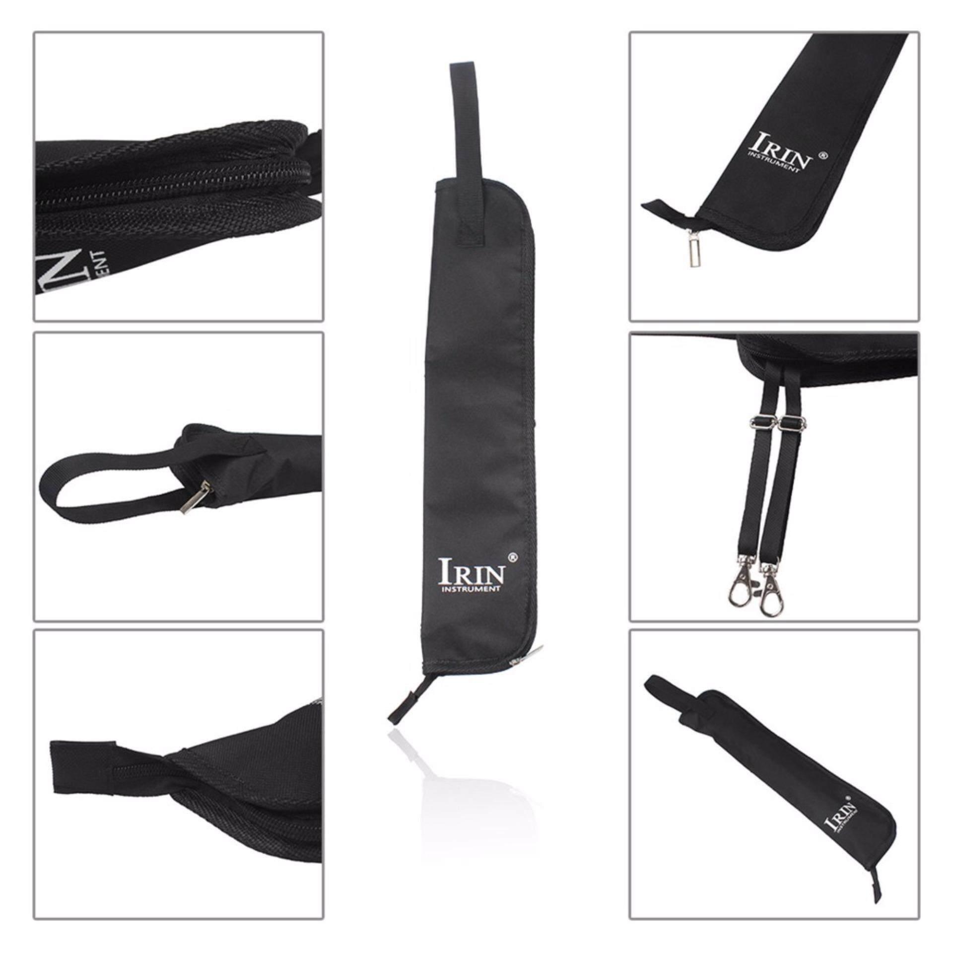Portable Air-Tahan Drum Tas Stik Case dengan Tali Pembawa untuk Stik Drum