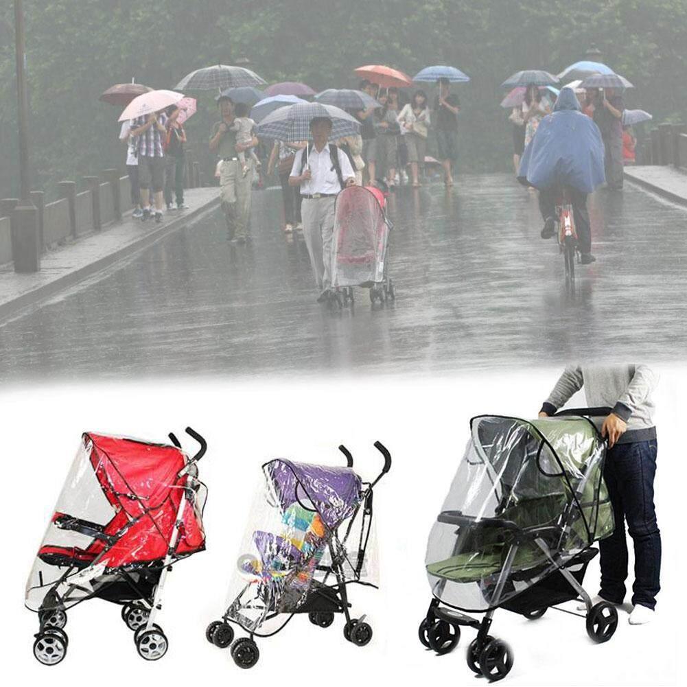 Tsujiu Store 2018 แฟชั่นขายดี!!! เด็ก Universal รถเข็นเด็กกันน้ำที่บังฝนลมที่กันฝุ่นผ้าคลุมรถเข็น