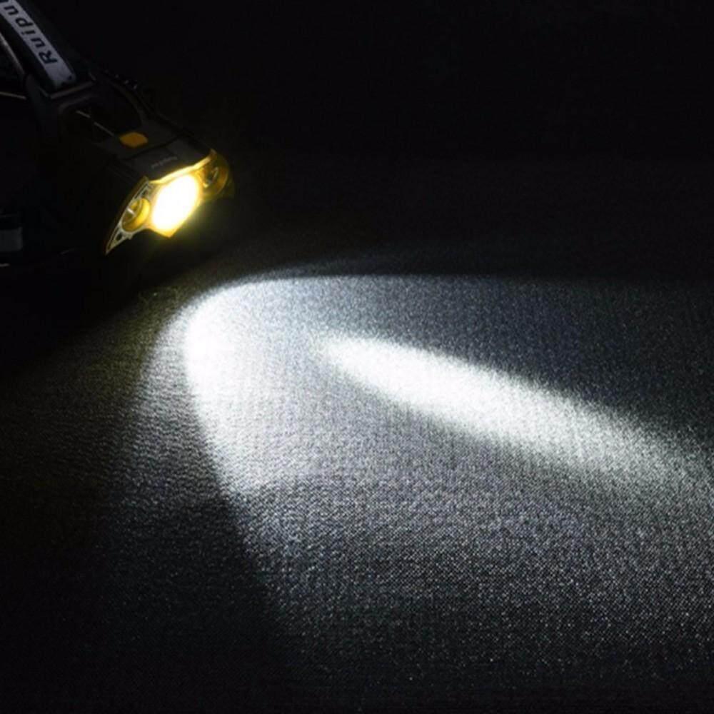 Liwod Z20 3 LED Lampu Kepala LED Super Terang Lampu Belakang Disesuaikan Kepribadian Headlamp Bentuk Kelelawar