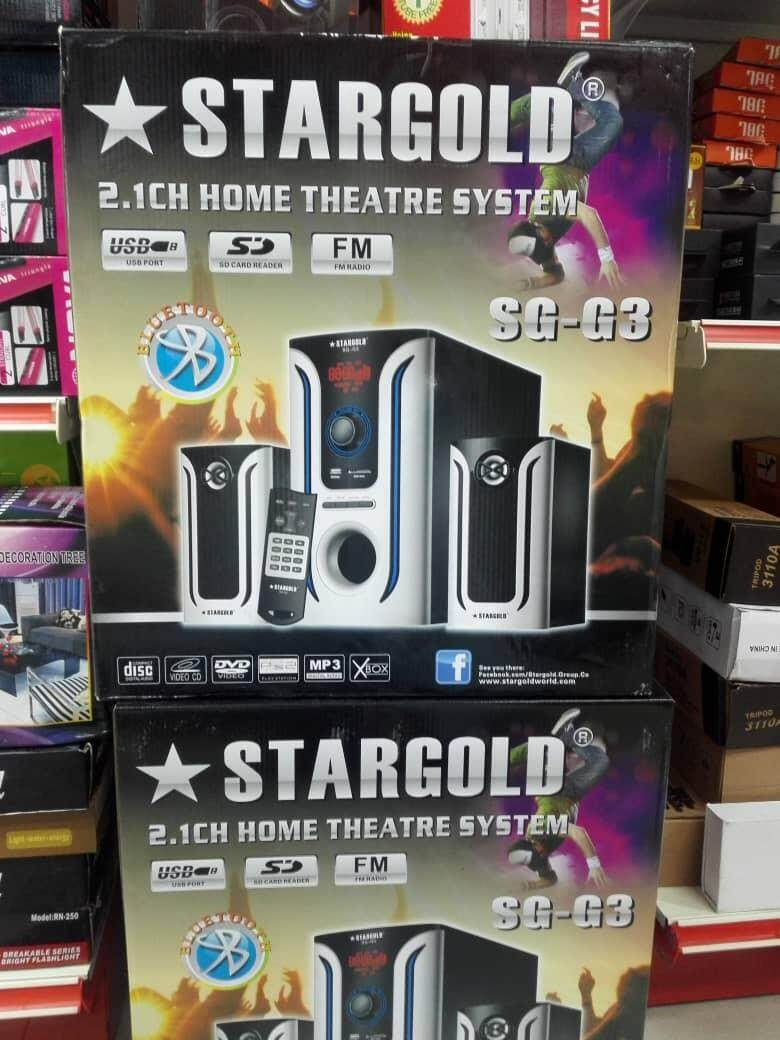 (Best Buy) Stargold 2.1ch Home Theatre System SG-G3 High resolution audio capability with high quality sound