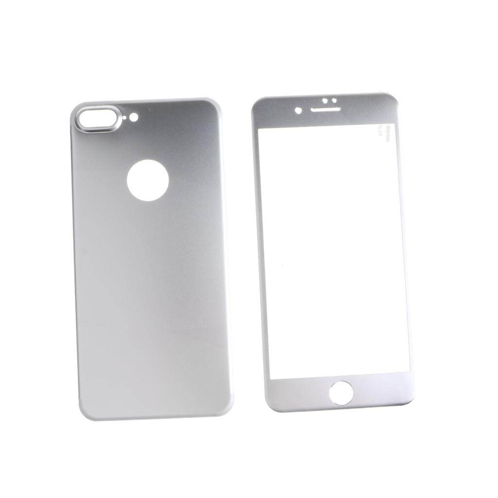Miracle Shining 3D Tempered Glass Film Full Cover Screen Protector for iPhone 7 Plus Silver