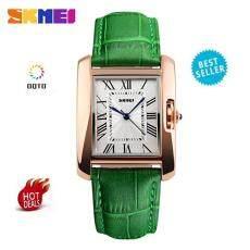 [100% Genuine]SKMEI TOP Brand Fashion Women Watches Luxury Quartz Casual Leather Watch