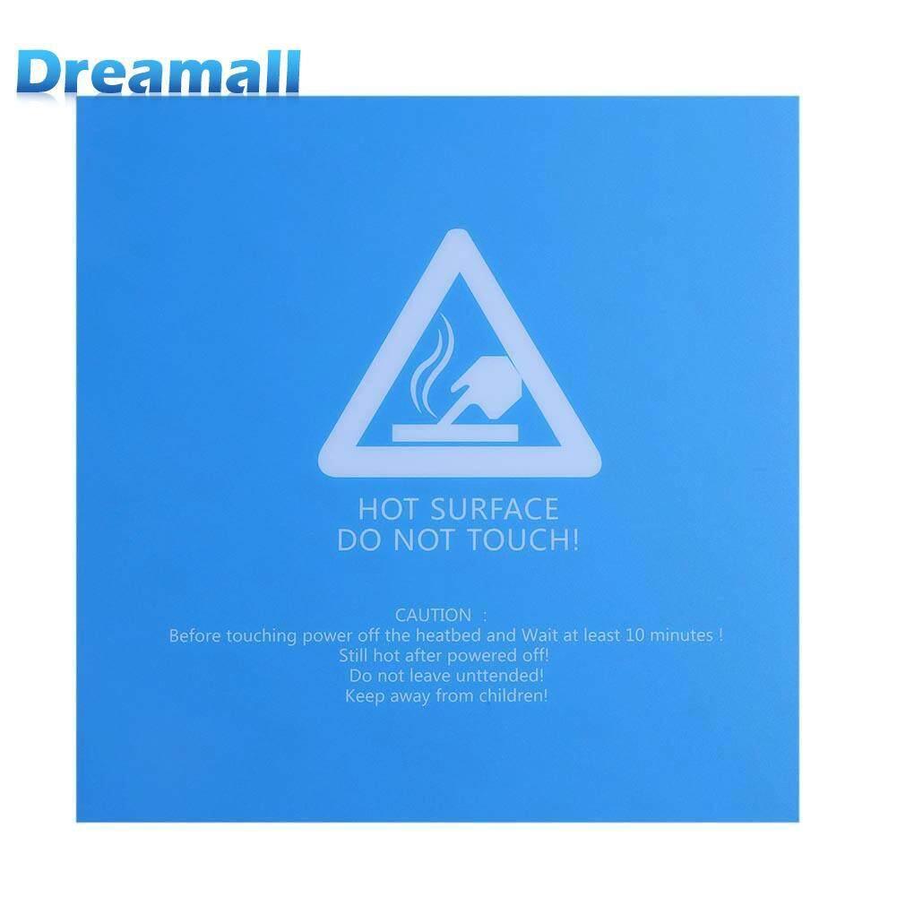 220x220x0.5 มิลลิเมตรสีฟ้าเตียงอุ่นกระเป๋าถือสี่เหลี่ยมเตียงร้อน 3d เครื่องพิมพ์สติกเกอร์.