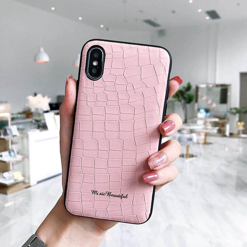 Untuk iPhone 7/8 Plus Indah Batu PC Pola + TPU Anti Gores Penutup Pelindung Casing Belakang Spesifikasi: Iphone 7/8 PLUS