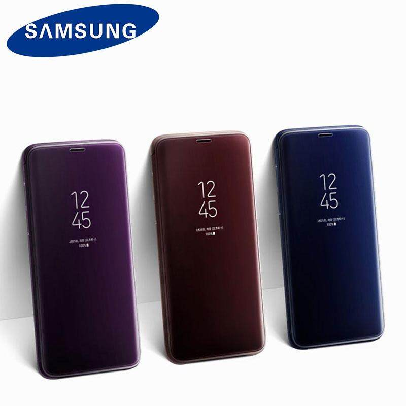 Features Original Samsung S9 Led Smart Leather Case For Samsung