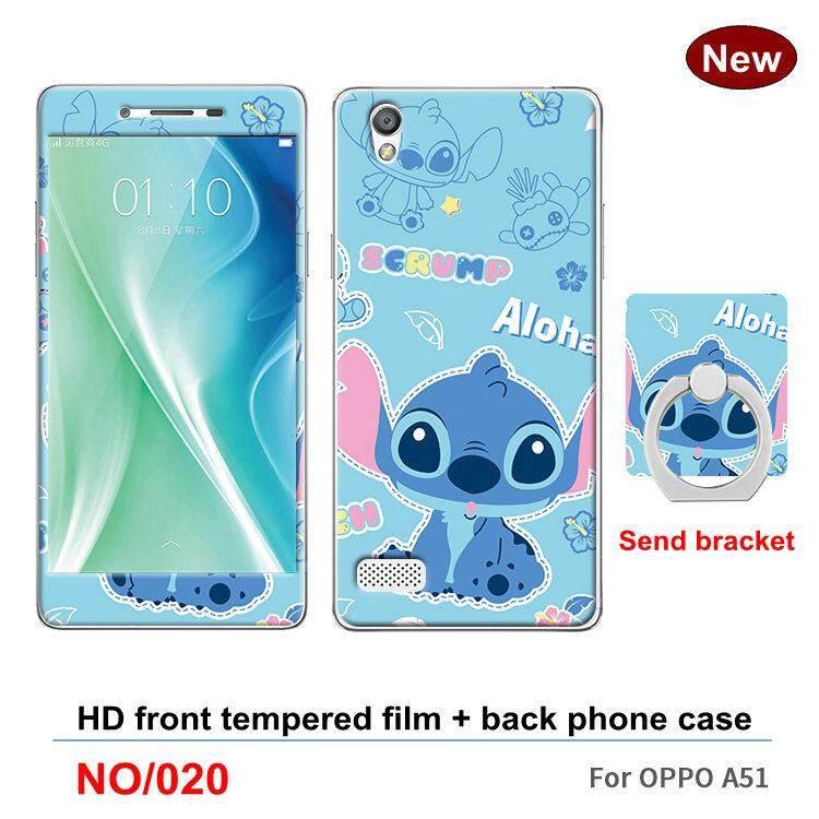 Tt Berkualitas Tinggi Fashion Cute Case untuk OPPO A51 Desain Klasik Simpel Casing Ponsel S Kreatif Produk Baru TPU Casing Ponsel