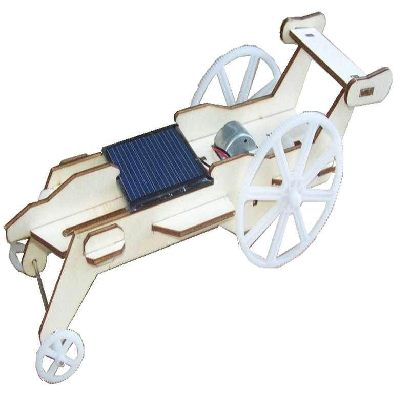 Wooden Diy Assembled Solar Toy Car Solar Toy Solar Lunar Rover By Audew.