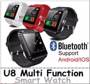 Bluetooth Smart Watch U8 Handsfree Support IOS Android