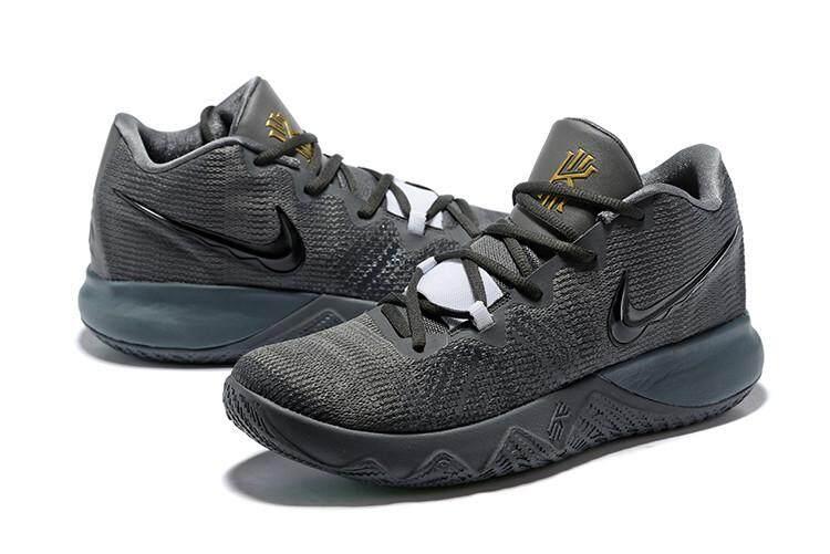 Nike Asli Kyrie Irving Penangkap Lalat Sneakers Pria Basketaball Sepatu  Aprikot Emas b7ec922878