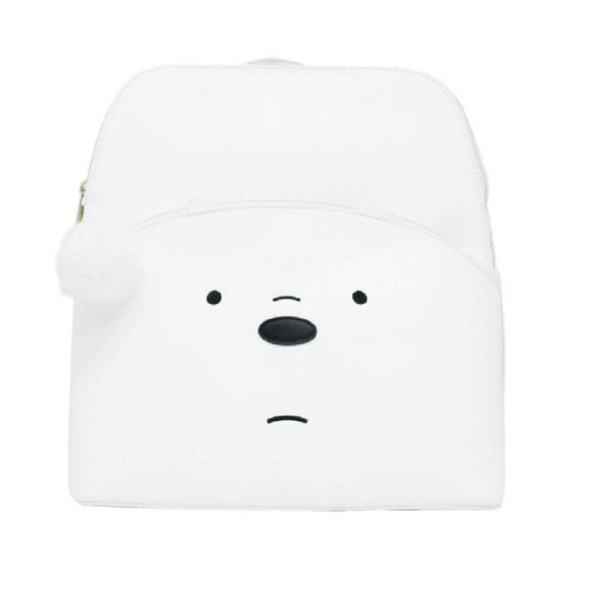 We Bare Bears Backpack School Bag 12.5 Inches - Ice Bear