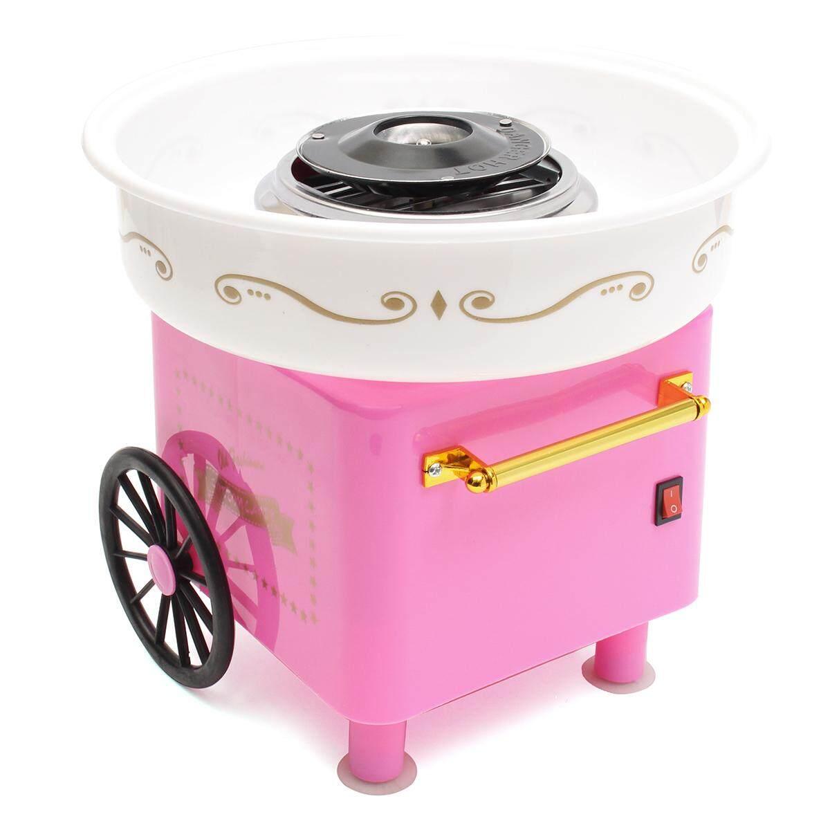 Hình ảnh Commercial Cotton Candy Machine Maker Kids Party Carnival Sugar Free Home