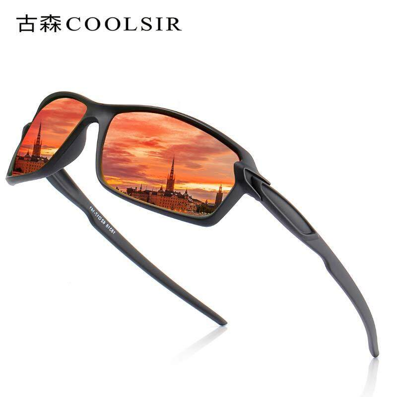 5cbe1dbc128 VEITHDIA Sports Women Sunglasses Men 2018 Polarized Sunglasses 18318  Vintage Retro Black Frame UV400 Women Mens