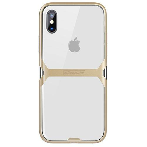 Untuk iPhone X Case NILLKIN NILLKIN Crystal Case TPU Bening Transparan Case Beberapa Medan Perang PERLINDUNGAN PENUTUP (5.8 Inch)