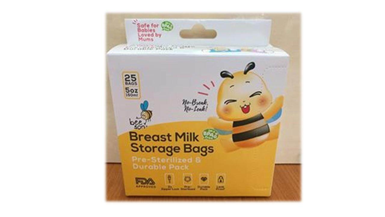 BEESON Breast Milk Storage Bags (5oz/150ml) 25 Bags
