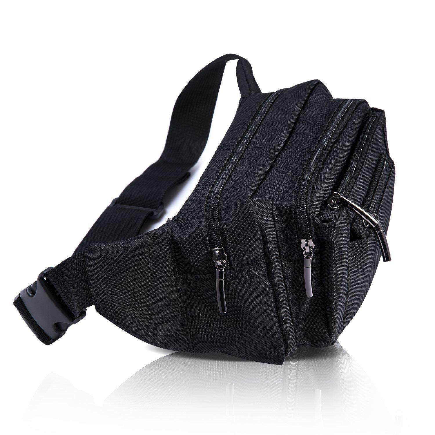 Multifunctional Waterproof Waist Pouch Bag for Men&Women Hip Bum Bag with Adjustable Strap for Outdoors Workout
