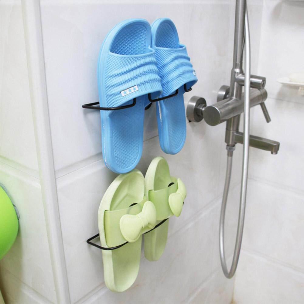 Fashion Sepatu Sederhana Hisap Dinding Tipe Holder Kreatif Rak Penyimpanan Sepatu Spesifikasi: Gantung Sepatu Tunggal-Internasional