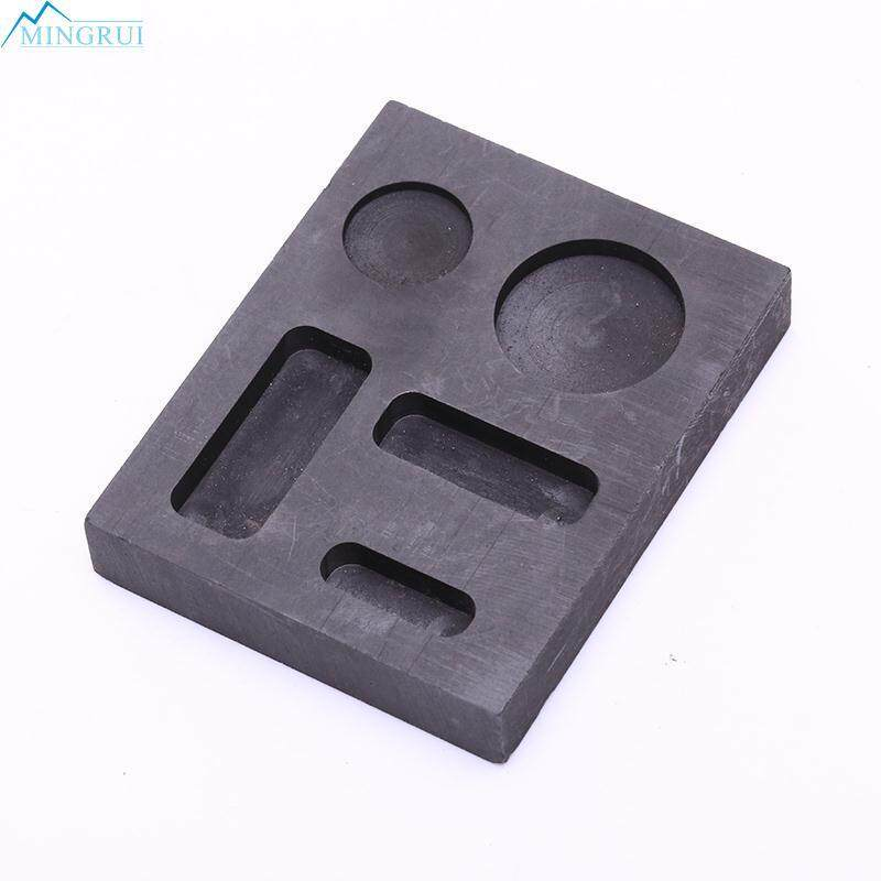 Square Five Goove Graphite Crucible Metal Bar Molds Melting New Top Sale