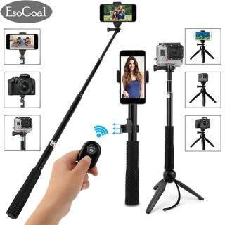 Giá Ba Chân Gậy Selfie EsoGoal Gậy Selfie Có Thể Mở Rộng Chân Máy Đơn Tích Hợp Chân Máy Và Màn Trập Bluetooth Từ Xa Chân Máy Ảnh Tự Sướng Không Dây Dành Cho Điện Thoại Di Động Máy Ảnh thumbnail