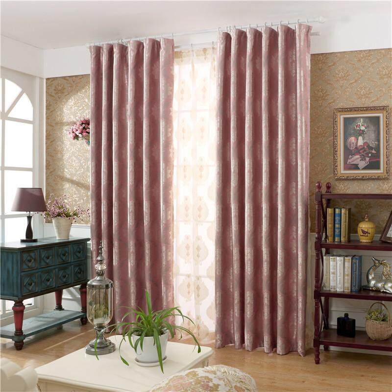 [OrangeHome] 150*250 CM (1 pc) Blackout Curtain Drape Ring/Eyelet/Punch Window Room Bedroom Balcony Pink A01-OSH - intl