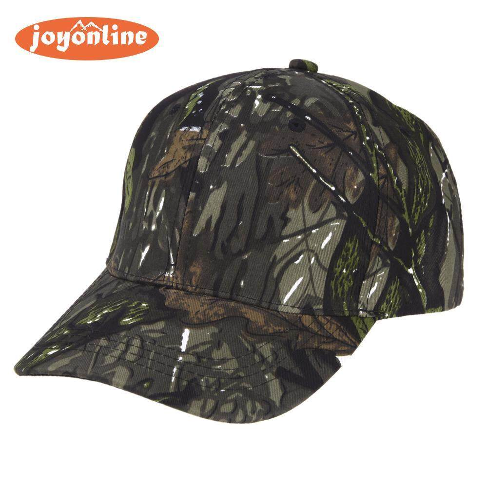 Camouflage Wild Hiking Army Camo Cap Tactical Baseball Cap Hat(black)-(black Int: One Size) By Joyonline