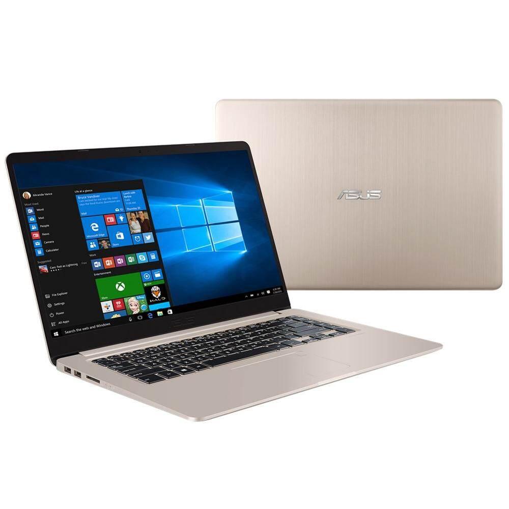 Asus Vivobook S15 S510U-NBQ350T 15.6 FHD Laptop Gold (i5-8250u, 4GB, 1TB+256GB, MX150 2GB, W10H ) Malaysia