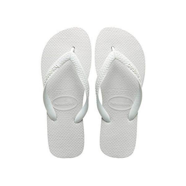 Havaianas Womens Top Flip-Flop, White, 39/40