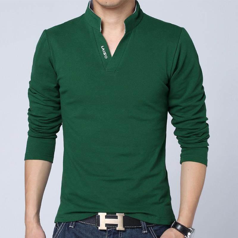 Betrare Korean Style Plain T Shirt For Man V Neck Casual Shirt Men Fashion Shirt Pure