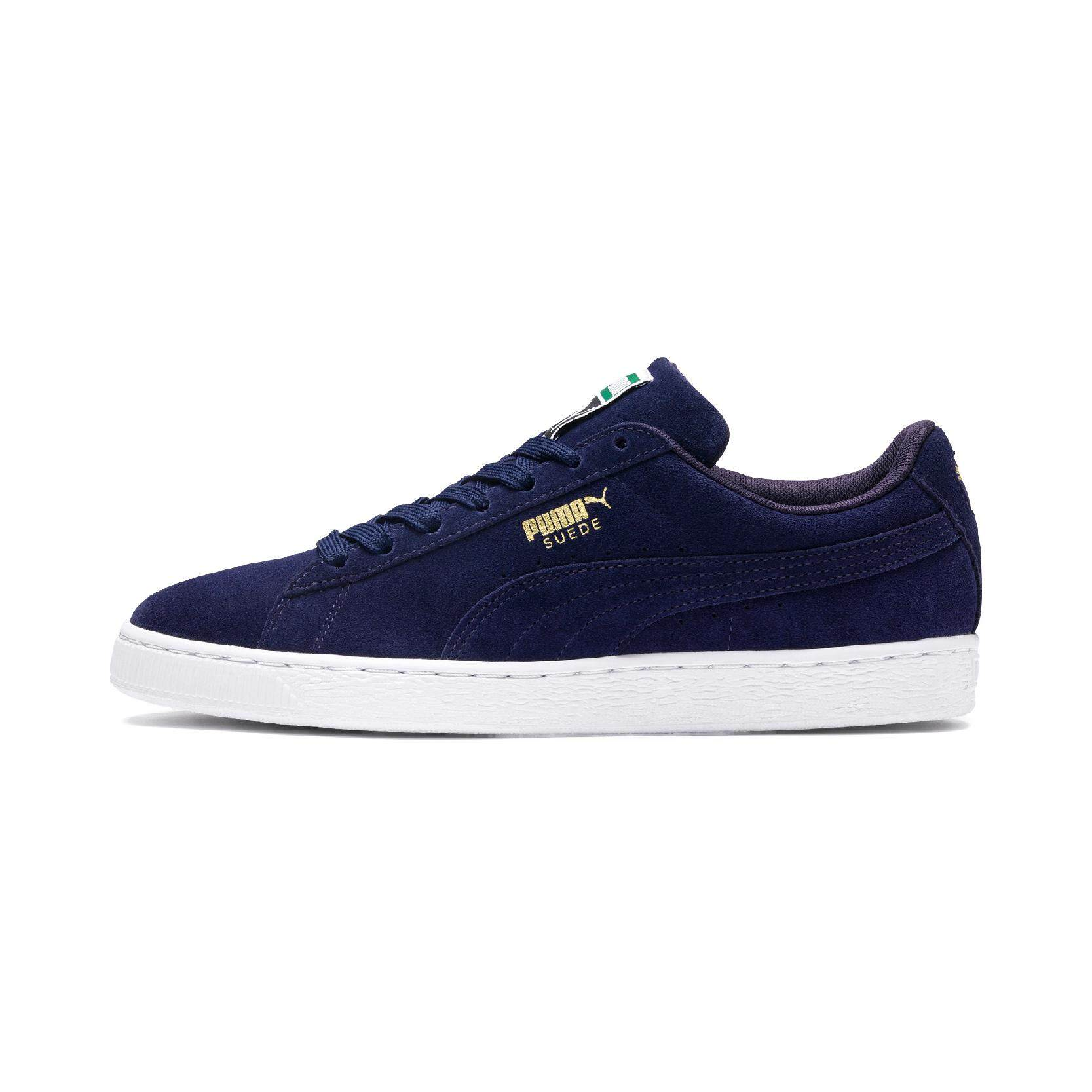 Puma Suede Classic Sepatu Sneakers Olahraga Black White - Daftar ... 1d8bcdac75