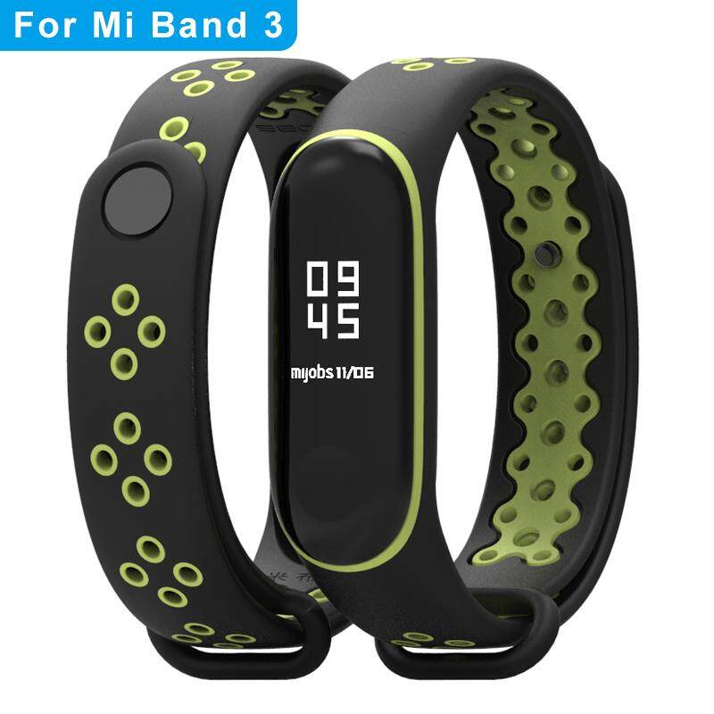FEIKU Sport mi band 3 4 Strap Bracelet For xiaomi mi band 3 4 Wristband  Belt Colorful Silicone Replacement XM3