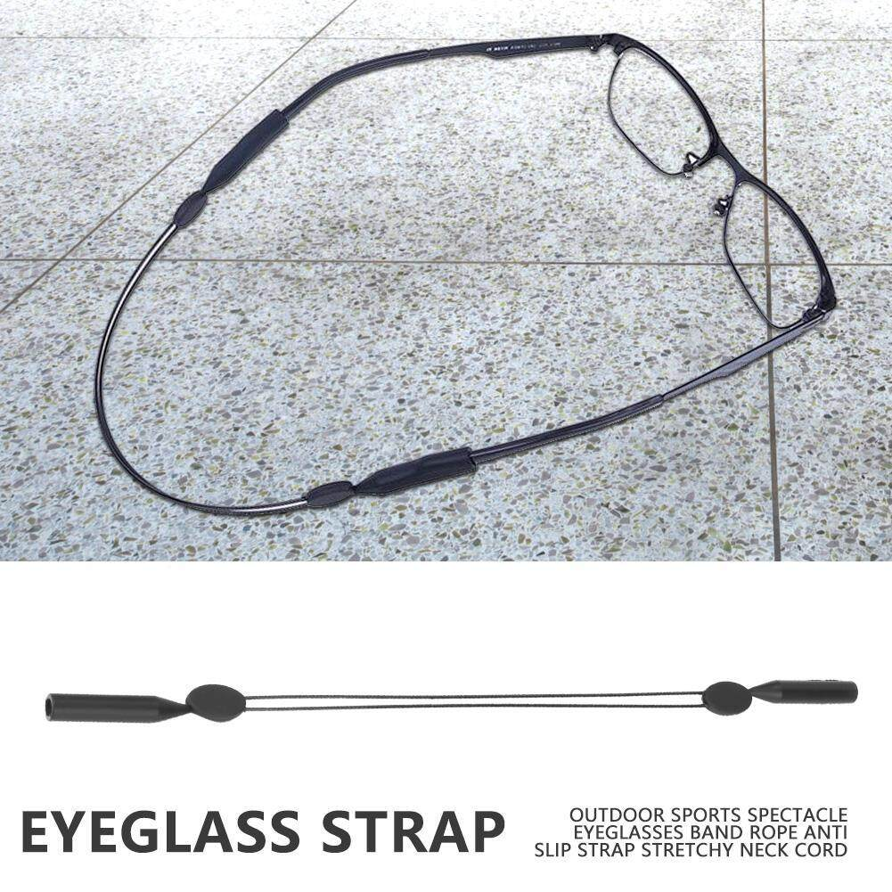【Made in Italy 】Outdoor Sports Spectacle Eyeglasses Band Rope Anti Slip Strap Stretchy Neck Cord