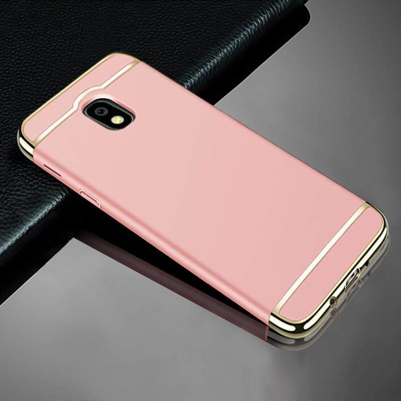 Untuk Samsung Galaxy J3 PRO 2017 J330 Case, Luxury 3 Dalam 1 Case Keras Sangat Ramping Cover Sarung Telepon Genggam