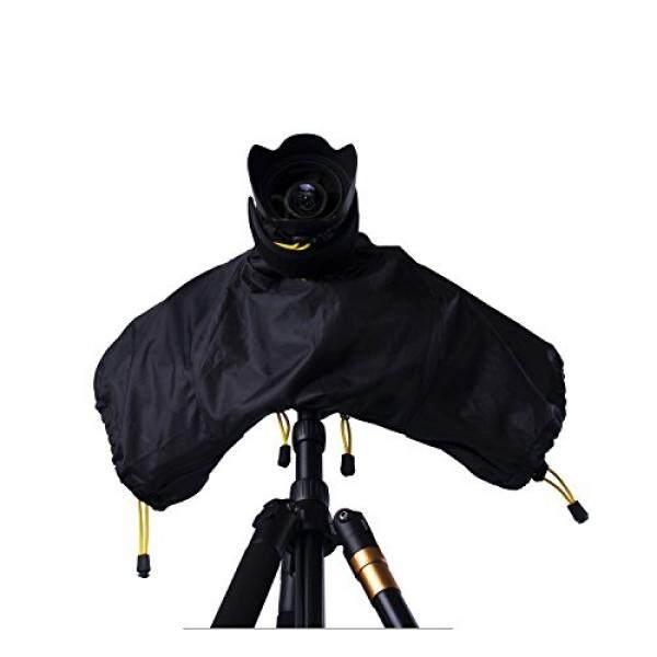 FOSOTO Camera Rain Cover Protector Rainproof for Canon EOS Rebel T6 T6i T5 T4 7D XT XTi 1200D 700D 750D,Nikon D3400 D3300 D3200 D3100 D5600 D5500 D5200 D60 D7200,Sony Olympus Fuji Digital SLR Camera