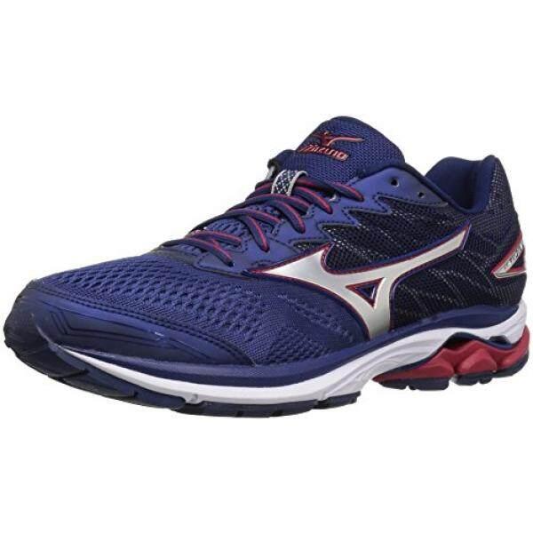 6e92b237f51 Mizuno Mens Wave Rider 20 Running Shoe