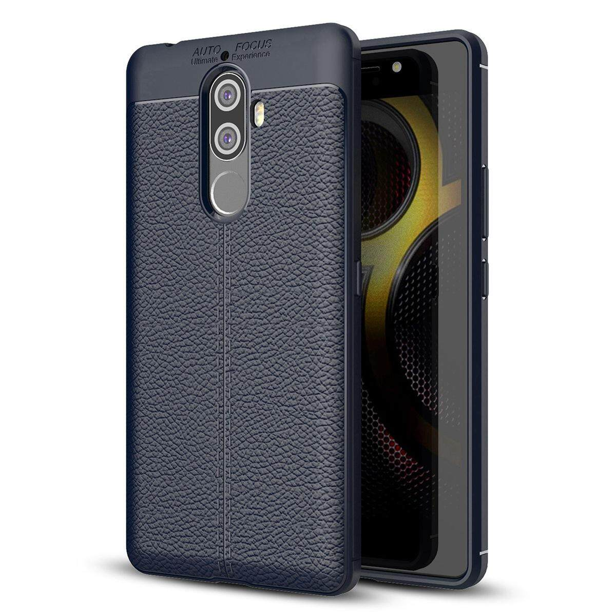 Lenovo K8 Note Case, Meishengkai Ultra Slim [Litchi Pattern] Resistant TPU Anti-Scratch Shock Absorption Protective Cover for Lenovo K8 Note 5.5