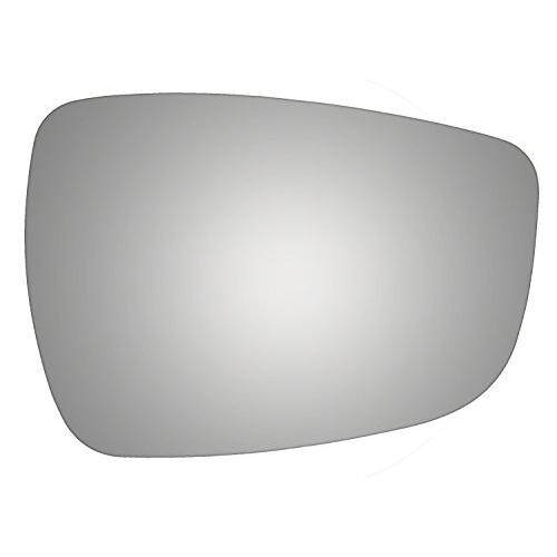 Burco 5487 Convex Passenger Side Replacement Mirror Glass for Hyundai Accent, Elantra, Veloster (2011, 2012, 2013, 2014, 2015, 2016, 2017)