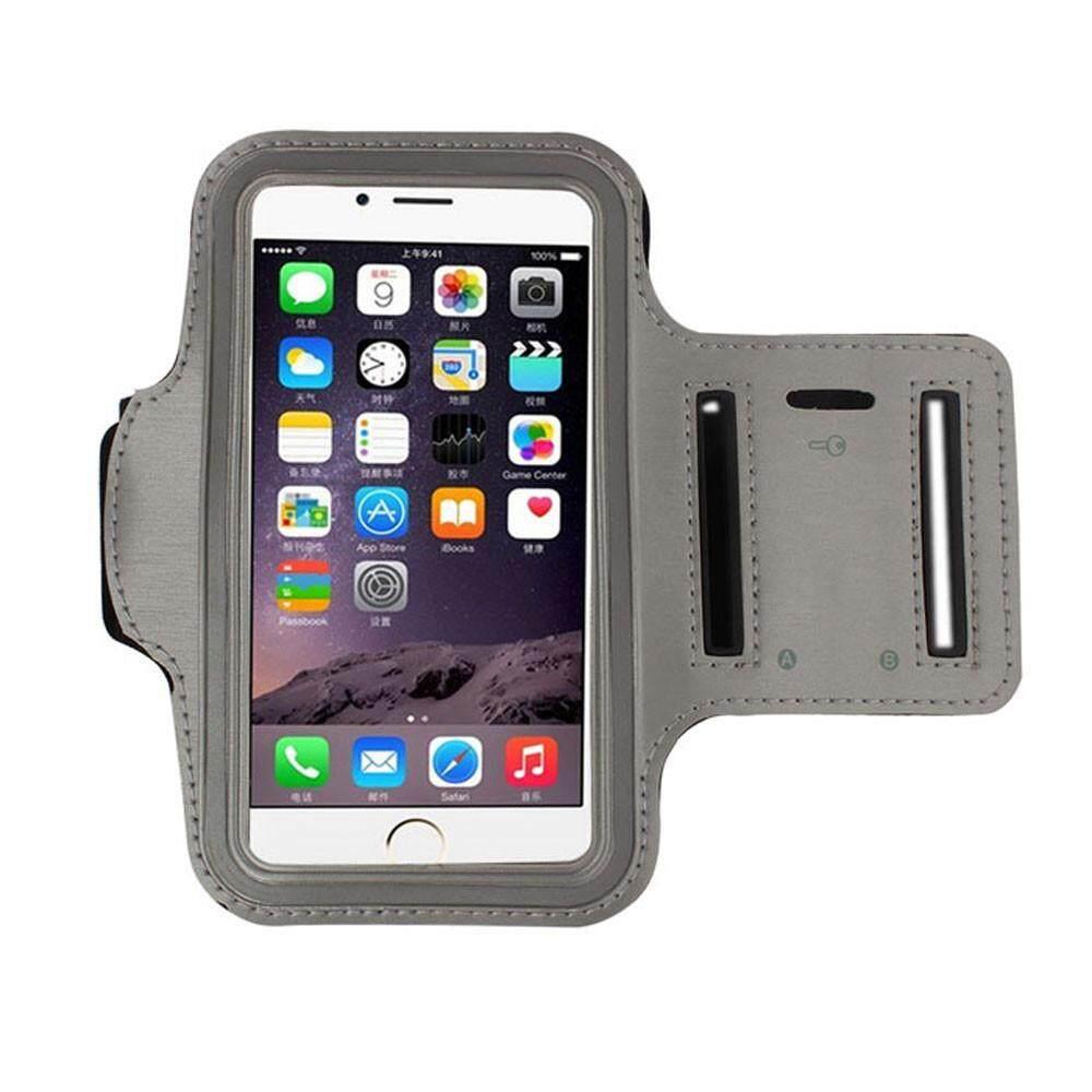Waterproof Sport Running Arm Band Case(Grey 4.7 Inch)