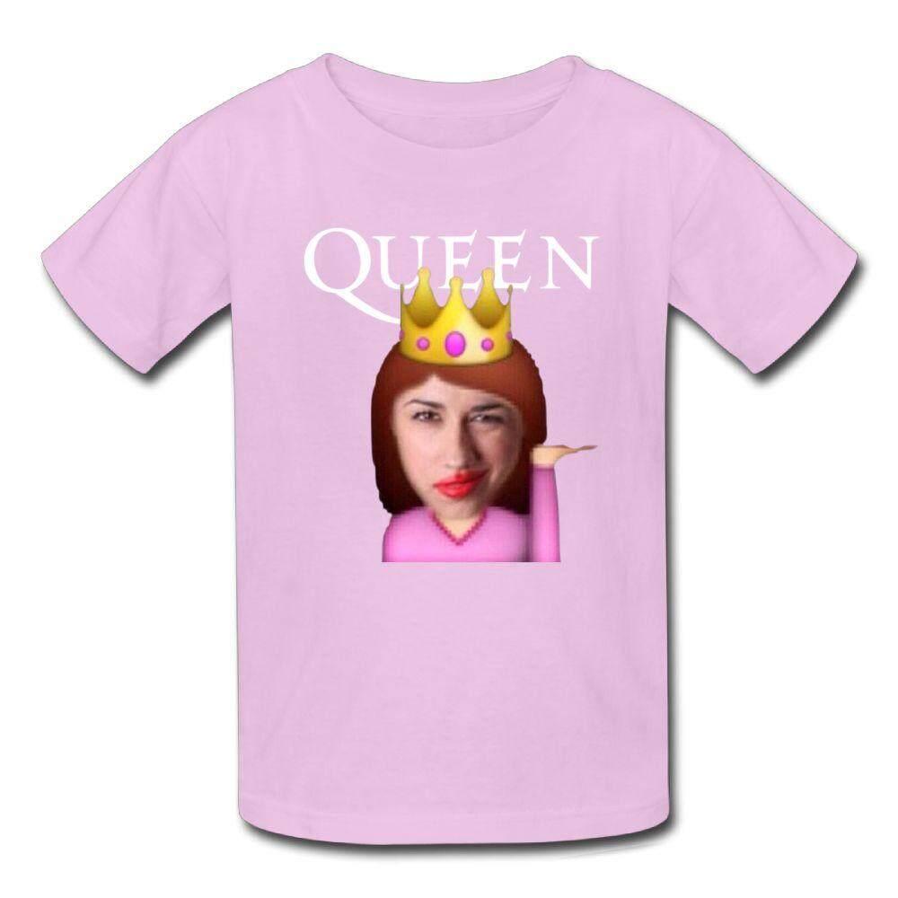 Yonth Anak-anak YouTube Miranda Sings T-shirt Fashion Baru Olahraga Remaja Top-Intl