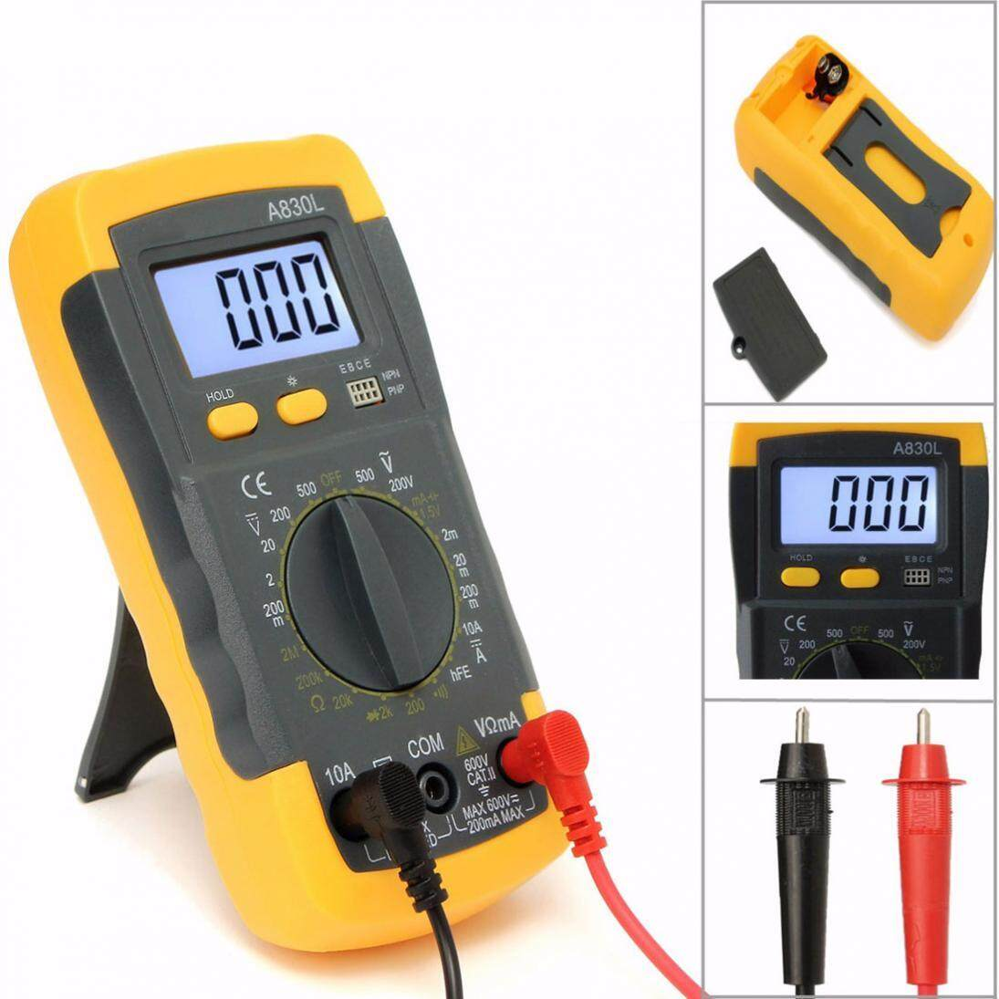 Buy Sell Cheapest Ac Dc Lcd Best Quality Product Deals A830l Digital Multimeter Voltmeter Ammeter Ohm Circuit Volt Ohmmeter Capacitance Tester Intl