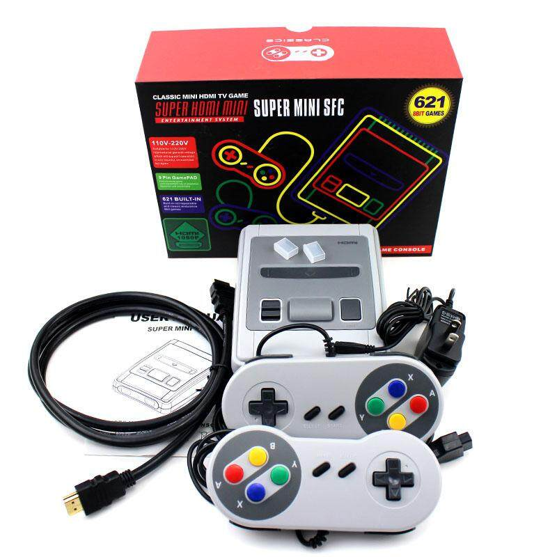 621 childhood games retro mini HDMI game console 4 to 8-bit classic video games console manual game player - intl