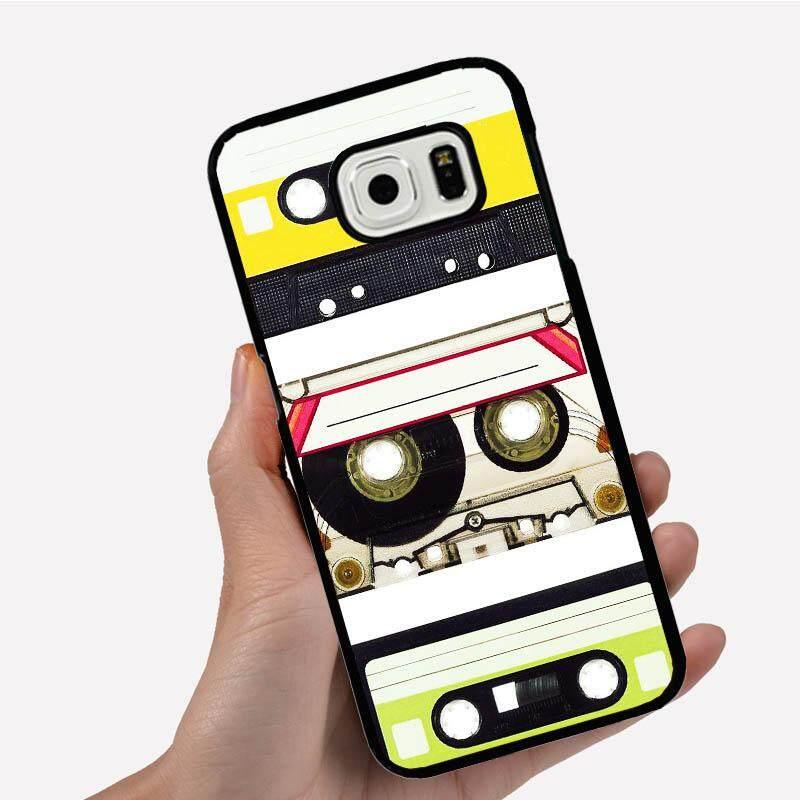 Casing Ponsel untuk Vivo X9 dengan Tiga Colorful Retro Vintage Tipe Gambar Kartun Pola Plastik Anti-Knock Telepon Case cover