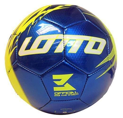 Lotto Boys Stadio Soccer Ball, Forza Royal/Volt, Size 3 - intl