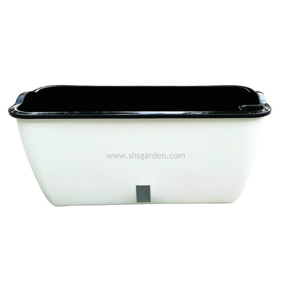 Large Self watering Pot Hydroponic Pot Don't Need to Water Everyday (SWPV) For Vegetable Plants or Flowers Planters